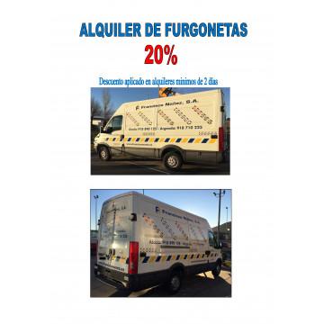 FURGONETAS EN ALQUILER