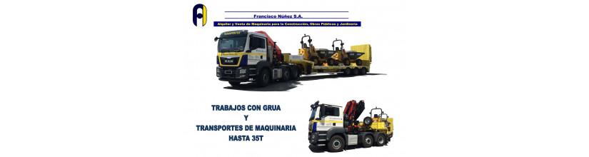 TRANSPORTES DE MAQUINARIA